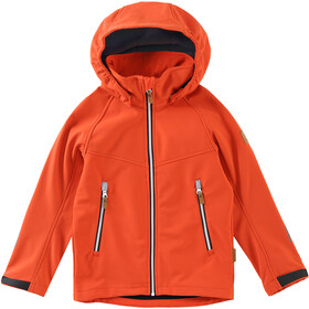 Reima Vild Softshell Jacket Boys Orange